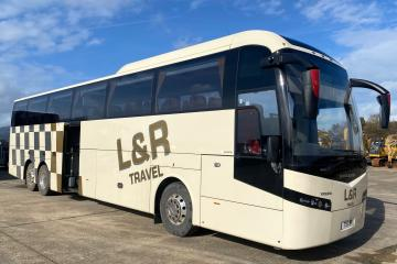 2015 Volvo B11R Jonckheere JSV single decked coach