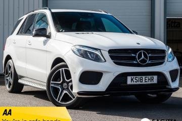 Mercedes GL Class GLE 350 D 4MATIC AMG NIGHT EDITION - 2018 (18 plate)
